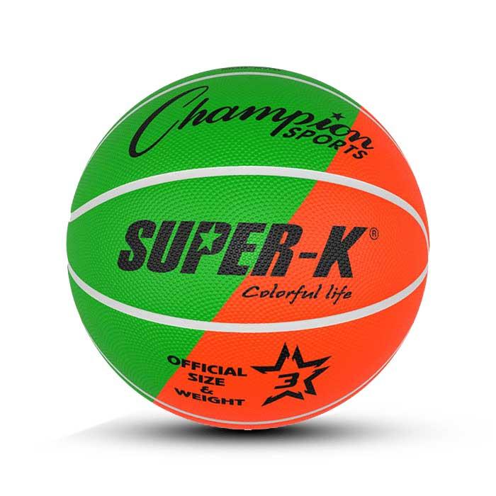 توپ بسکتبال لاستیکی سایز3(طرح الوان) – PBR3(MC)