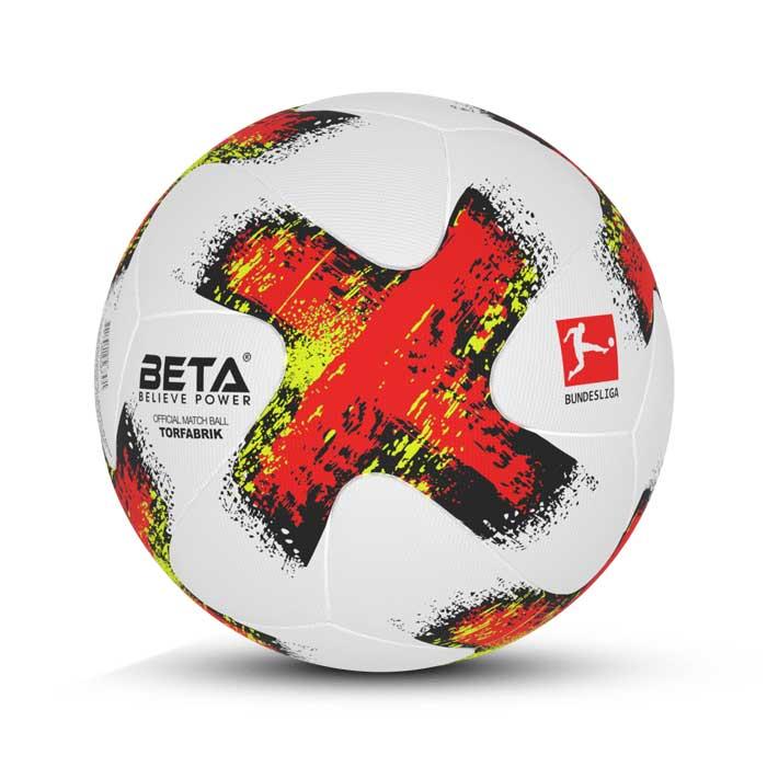توپ فوتبال چرمی سایز 5 طرح تورفابریک- TORFABRIK
