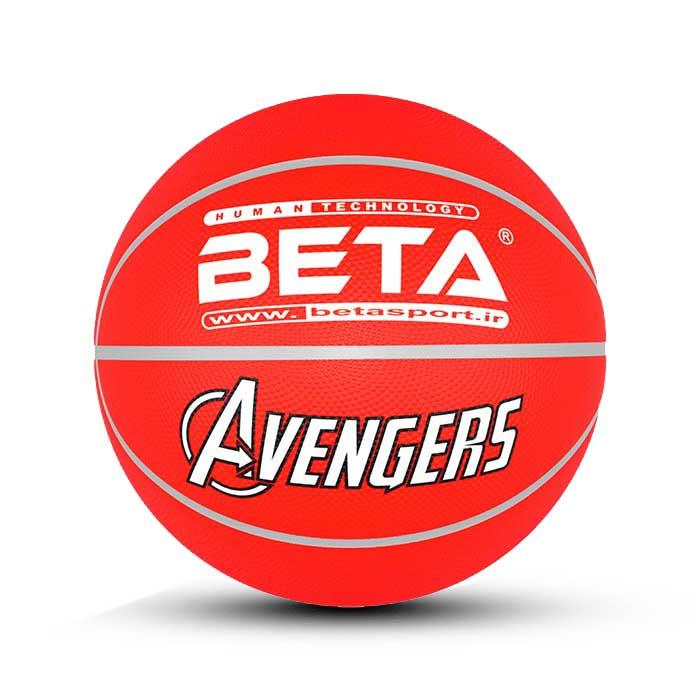 توپ بسکتبال لاستیکی سایز5(طرح اسپایدرمن)