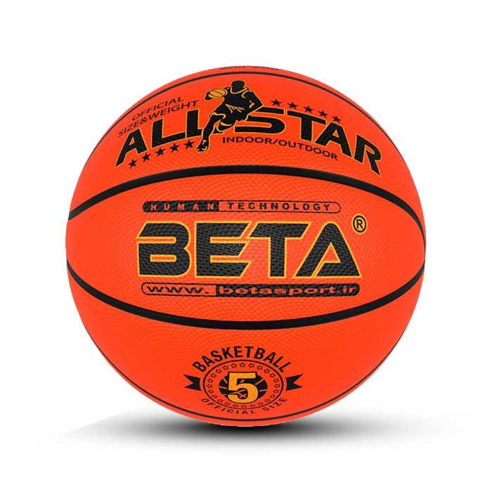 توپ بسکتبال لاستیکی سایز5- PBR5