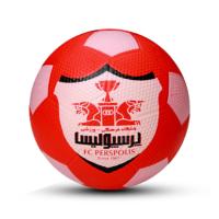توپ فوتبال لاستیکی سایز 3 پرسپولیس - PERSPOLIS
