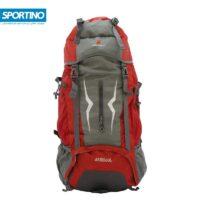 کوله پشتی کوهنوردی ۶۰ لیتری KEEP AHEAD مدل ARIES 60L رنگ قرمز