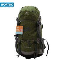 کوله پشتی کوهنوردی ۵۰ لیتری snow wind مدل Adventure 50-5L رنگ سبز