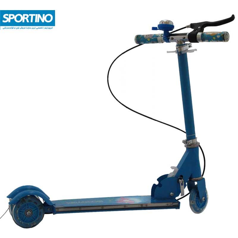 اسکوتر طرح فانتزی مدل ۲۰۸ps رنگ آبی