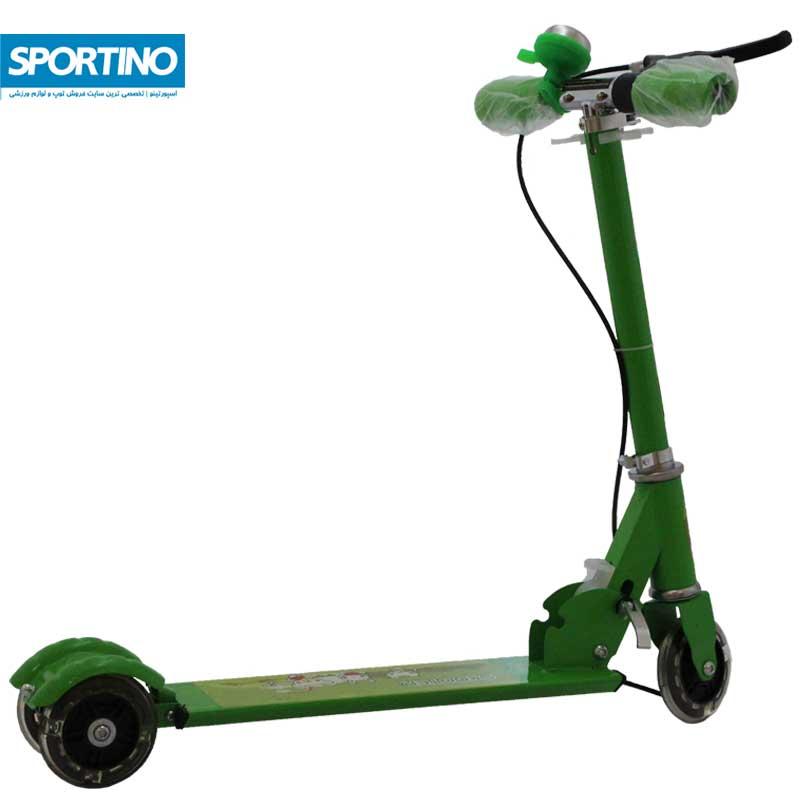 اسکوتر طرح فانتزی مدل ۵۰۸ رنگ سبز