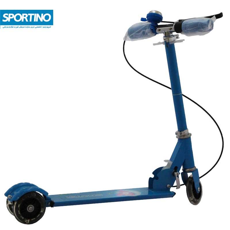 اسکوتر طرح فانتزی مدل ۵۰۸ رنگ آبی