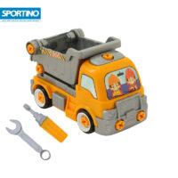 ماشین اسباب بازی راه سازی کامیون کمپرسی